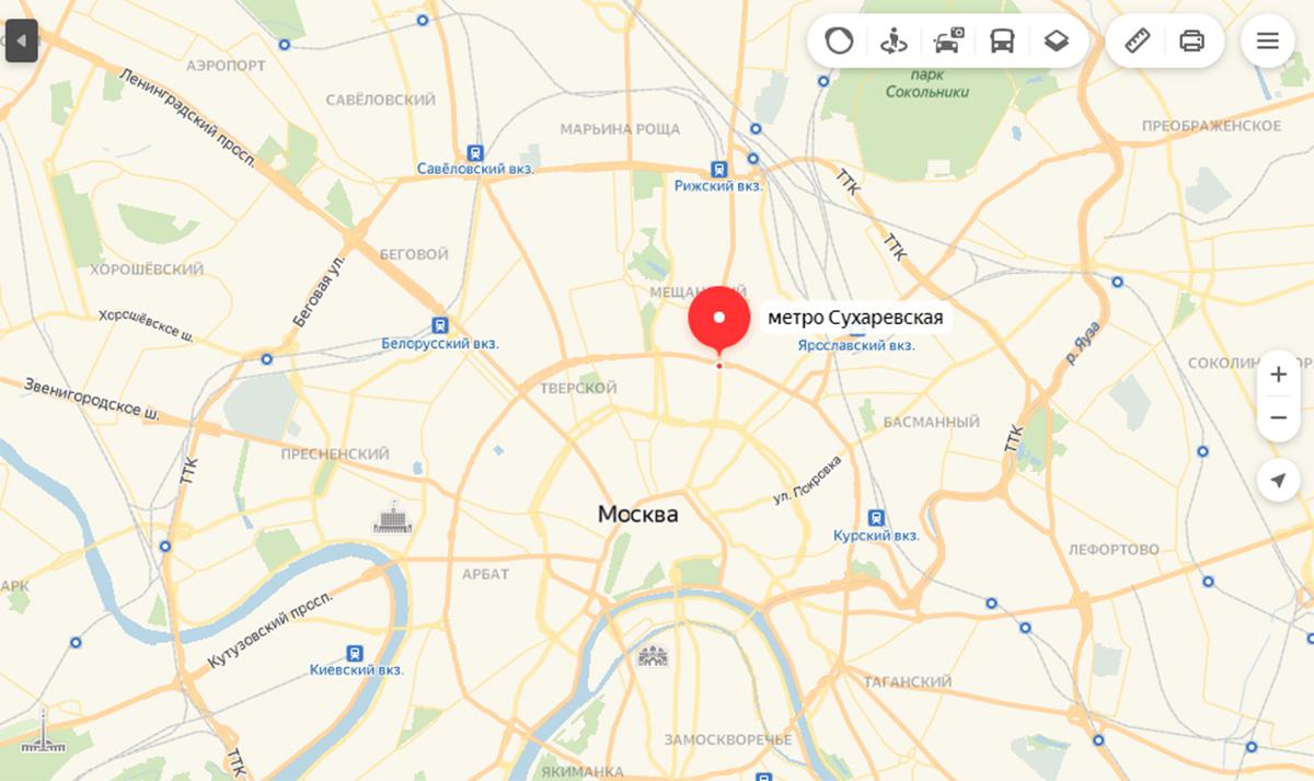 Юристы метро Сухаревская