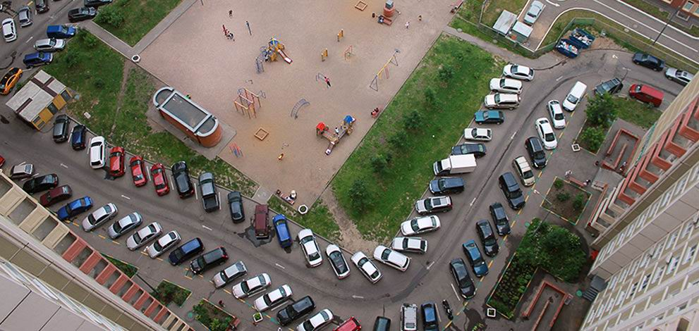 Можно ли во дворе отгораживать свое парковочное место